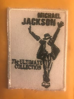 MICHAEL JACKSON (ULTIMATE COLLECTION)PATCH IRON ON OR SEW ON US SELLER FREE SHIP Michael Jackson Collectibles