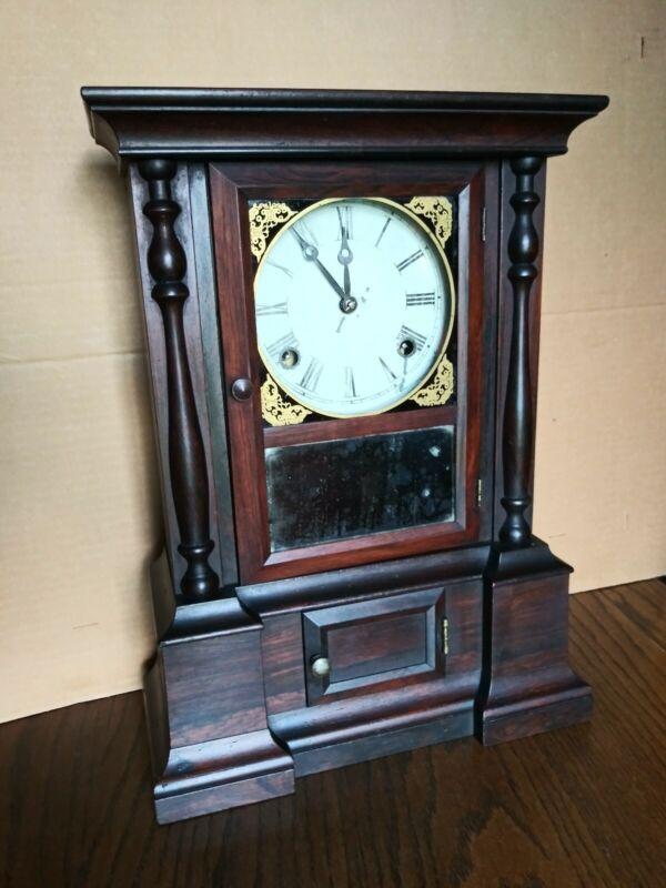 "Atkins 8 Day ""London"" Shelf Clock"