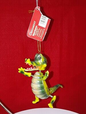 Christmas Ornaments Alligator with springed limbs, head and tail World Market ()