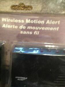 Wireless motion alert brand new in box 10$ Oshawa