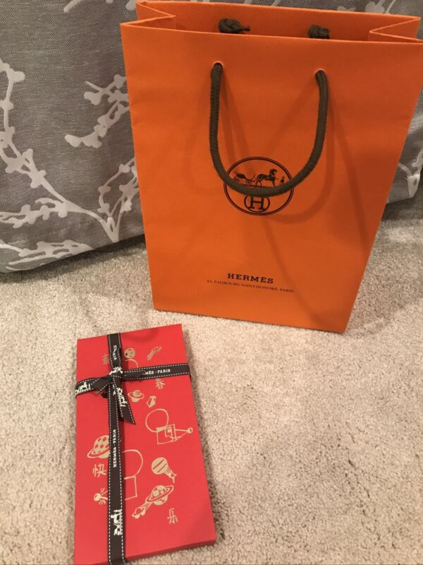 Hermès Hermes Chinese New Year Red Envelopes Limited Edition