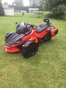 Can am Spyder RS-S 2012