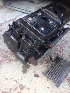 Kawasaki GPX 750 motor