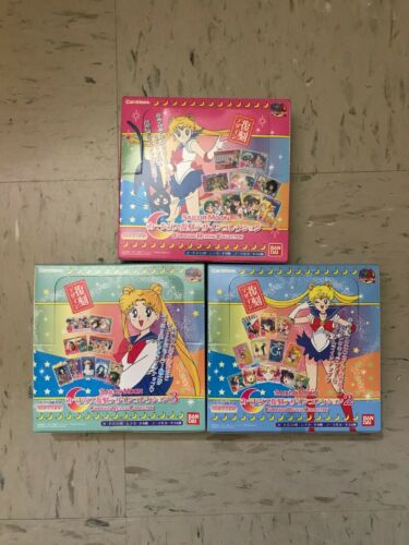 Sailor Moon Sailor Soldiers Carddass Revival Collection Card Japan Rare Bandai