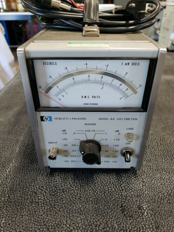 Hewlett Packard 400EL voltmeter AC voltmeter -  FREE SHIPPING!!