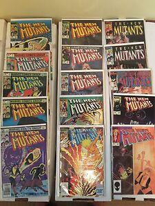 Marvel Comics: New Mutants (First Series)