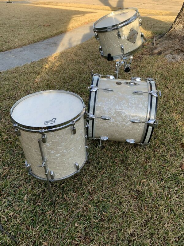Gretsch 18, 14, 12 WMP Kit BEAUTIFUl! (matching snare available )