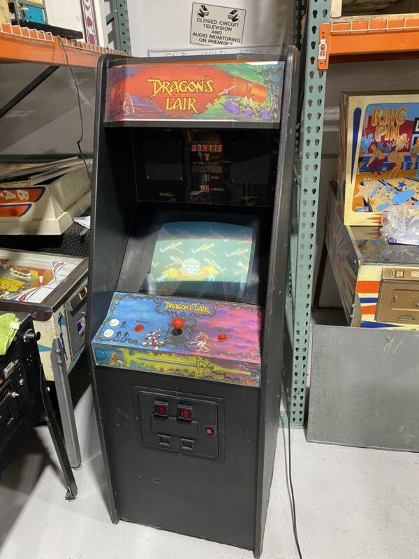 Dragon's Lair Arcade By Cinematronics 1983 original