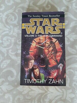 Star Wars Book Thrawn Trilogy: Volume 3: The Last Command Timothy Zahn Paperback