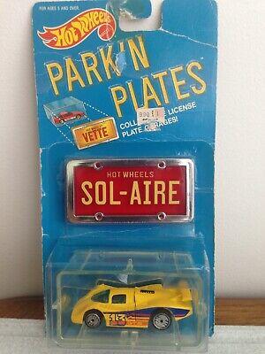 Hot Wheels Park 'N Plates Sol-Aire CX-4- NEW -Read description