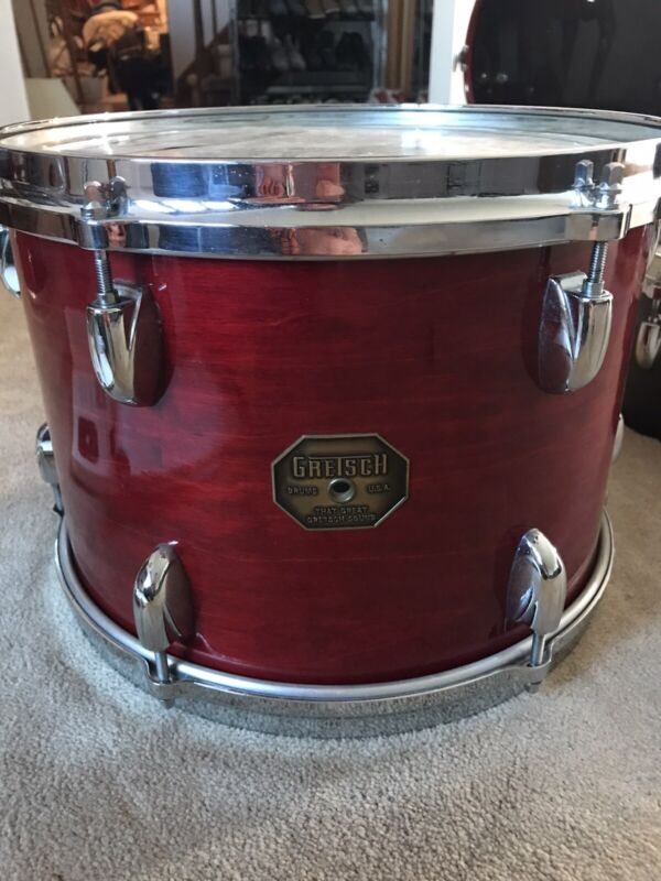 RARE 1970s Gretsch Red Rosewood Tom