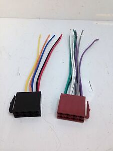 Car-Radio-Stereo-Standard-16-Pin-Wiring-Harness-Iso-Connectors-Loom-Leads