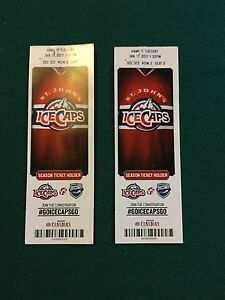 Icecap tickets for tonight