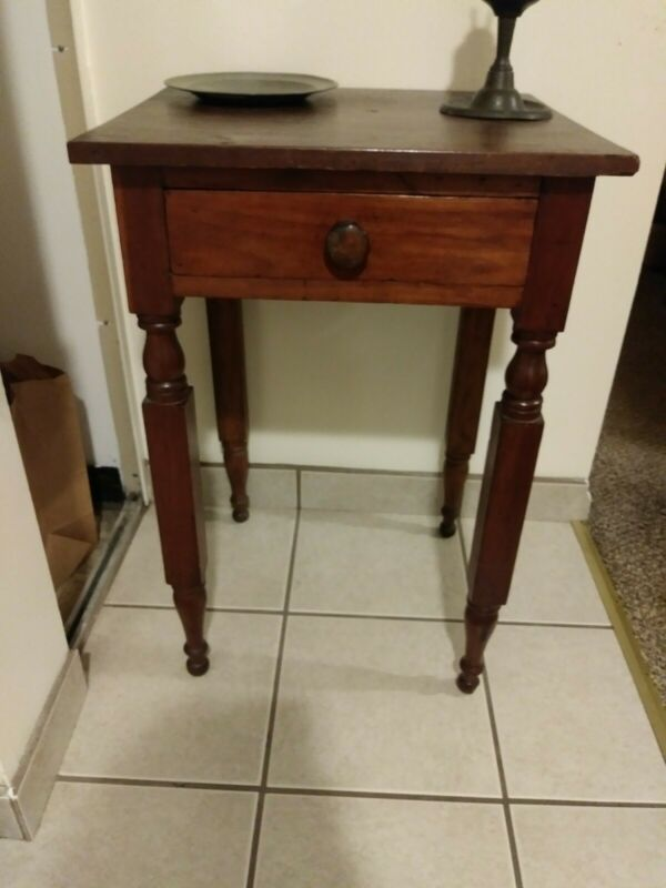 19th Century One Drawer Stand Nightstand