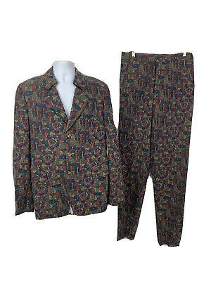 Comme Des Garçons Homme Plus Psychedelic Suit (Jacket & Pants) Size Large NEW