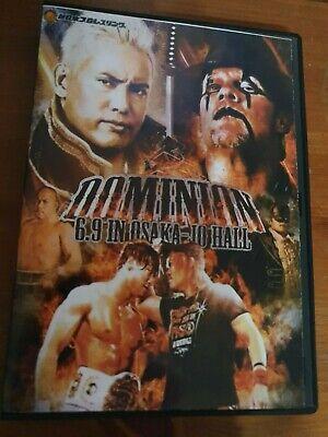 NJPW New Japan Pro Wrestling Dominion 6.9 2019 Wrestling In Osaka Jo Hall DVD