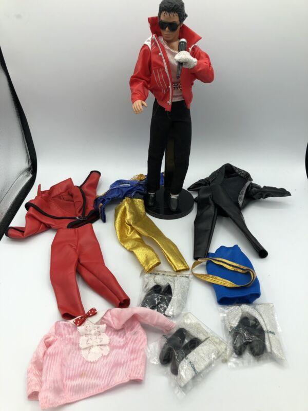 MICHAEL JACKSON 1984 LJN TOYS LTD. Doll. Sunglasses, Extras! Bonus Outfits.
