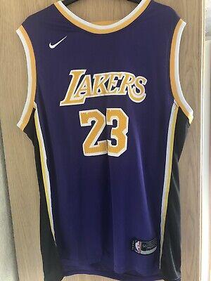 Nike NBA La Lakers Jersey XXL/54 23 LeBron James