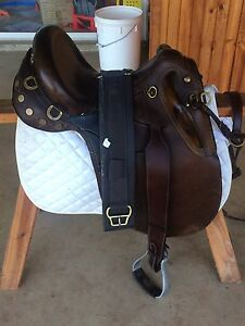 "17"" stock saddle for sale Biarra Somerset Area Preview"
