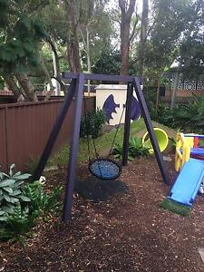 CHILDRENS SWING WITH PAINTED A FRAME Daceyville Botany Bay Area Preview