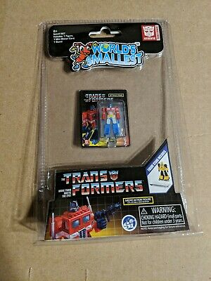 World's Smallest The Transformers Micro Action Figure Optimus Prime NEW