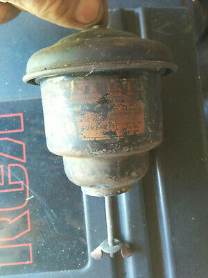 Vintage Small Engine Oil Bath Air Cleaner Wisconsin Clinton Lauson Briggs