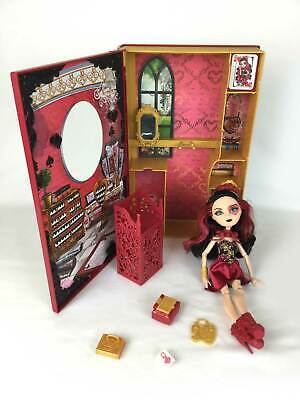 Ever After High  Lizzie Hearts Spring Unsprung Book Play Set Doll Fashion Toy