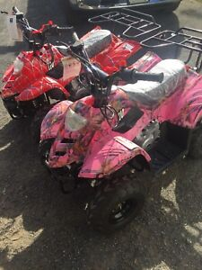 Excellent  For All Ages sizes 110 to 150cc kids and Adults ATVS