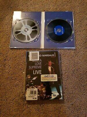 Brandford Marsalis John Coltrane A Love Supreme Live in Amsterdam CD DVD
