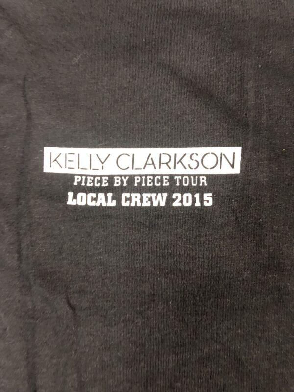 Vintage T Shirt - Kelly Clarkson Piece By Piece Tour Local Crew 2015 Size XL