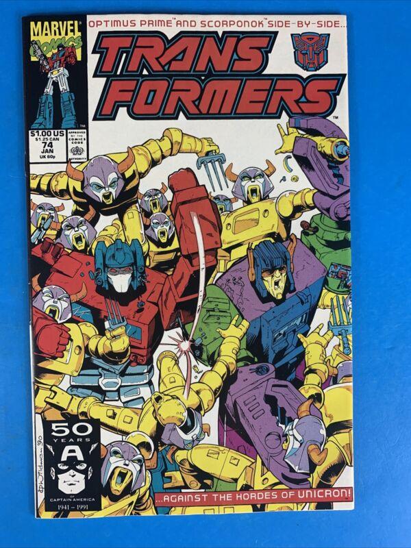 Transformers #74 NM 🔥🔥🔥