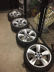 """BMW OEM 18"""" Staggered Mags"""