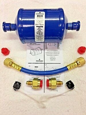 Refrigeration Recovery Burn Out Pre-filter Hose Kit Bok163hh Ok For R410a