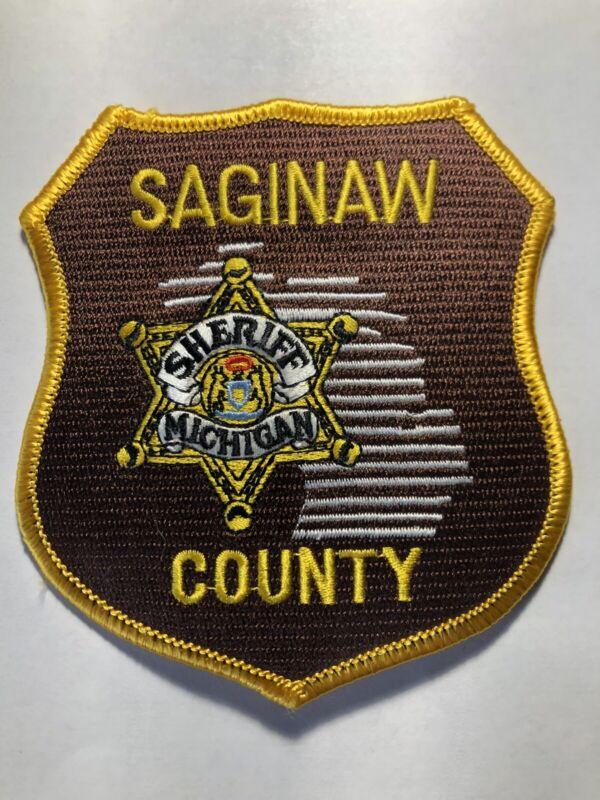 Saginaw County Michigan Sheriff Patch