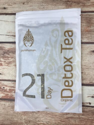 Pure Human 21 Day Detox Tea Weight Loss Liver Colon Cleanse