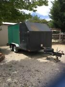 Fully Enclosed  Car Trailer Romsey Macedon Ranges Preview