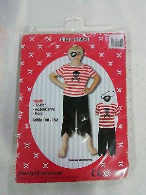 Kostüm Pirat Größe 140-152 Sonderposten Aktionsware (Piraten Männliche Kostüm)