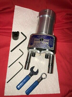 Gy Roll 650 Twin Drill Head Collet Type Adj Mts To Sugino Sn3 New