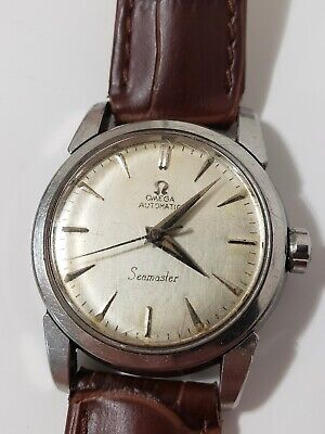 1954 Omega Automatic Seamaster Ref. 2828-1 SC Stainless Steel