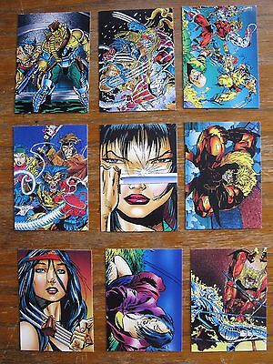WOLVERINE FROM THEN TILL NOW TRADING CARDS 73-81 MARVEL 1992 COMIC BOOK