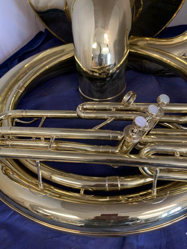 Reynolds Contempora  BBb Sousaphone w/Gooseneck & Bits. Overhauled. New case.