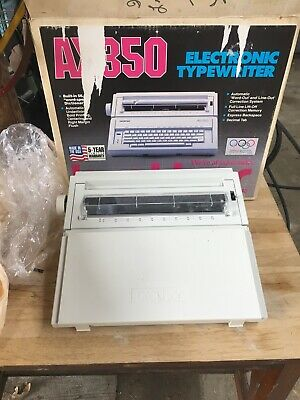 Brother Ax-350 Electric Typewriter Almost Perfect Condition