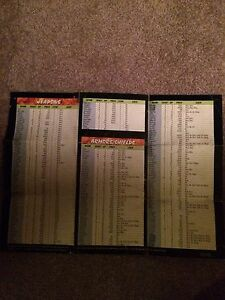 Breath of Fire 1 and 2 rare SNES maps London Ontario image 2