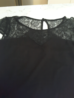 Review brand black top size small