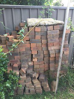 Pavers and bricks. FREE.