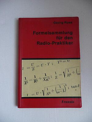 Rose-formel (Georg Rose: Formelsammlung für den Radio-Praktiker)