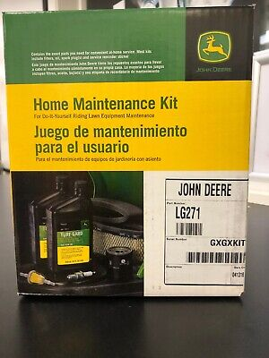John Deere Engine Service Kit LG271 Filter Oil Air Fuel Briggs X125 X145