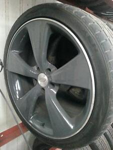 Ford FPV Dark argent 6 wheels 4 x 20 2 x 19 with new tyres Bundoora Banyule Area Preview