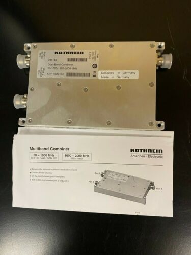 DUAL BAND COMBINER KATHREIN 791145