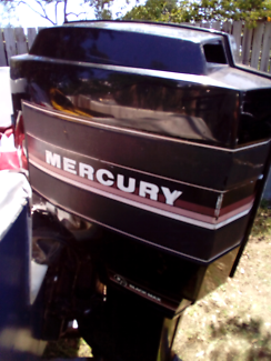 Mercury black max 150hp wrecking all parts, power head seized